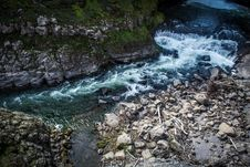 Free Fast Flowing River And Waterfall Stock Photography - 84928532