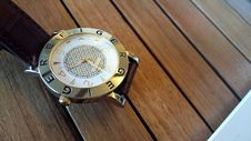 Free Geiger Wrist Watch Royalty Free Stock Images - 84929519