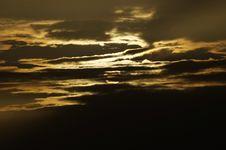 Free Dark Sunset Sky Royalty Free Stock Photos - 84929848
