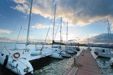 Free Circolo Nautico NIC Porto Di Catania Sicilia Italy Italia - Creative Commons By Gnuckx Royalty Free Stock Images - 84930919