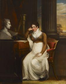 Free Carl Fredrik Von Breda &x28;1759–1818&x29;: Beata Charlotta Gripenwaldt, Née Wennerstedt / Beata Charlotta Gripenwaldt, O.s. Royalty Free Stock Images - 84931139