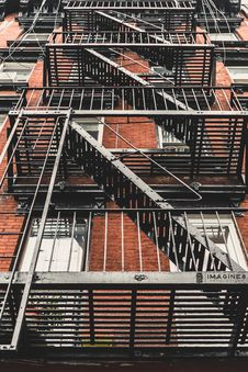 Free Fire Escape Royalty Free Stock Images - 84931199