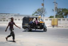 Free 2013_09_01_Mogadishu_Taxi_Company_005 Stock Photo - 84931550