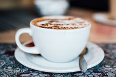 Free Cup Of Coffee Royalty Free Stock Images - 84932829