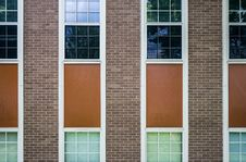 Free Brick Building And Windows Royalty Free Stock Image - 84932866