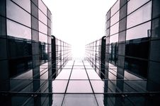 Free Worms Eye View Photography Black Glass Building Royalty Free Stock Photography - 84933407