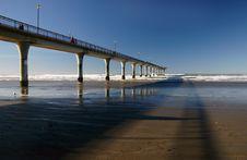 Free The Pier. New Brighton. Christchurch.NZ Stock Photo - 84933430