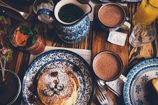 Free Breakfast Table Stock Image - 84933871