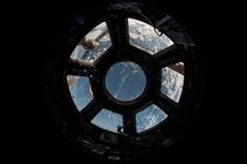 Free View Of Earth Through Space Shuttle Windows Stock Photos - 84934673