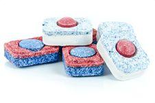 Free Dishwasher Tablets Stock Images - 84934734