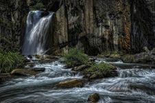 Free Waterfall And Cascading Creek Stock Photography - 84935222