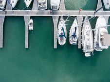 Free Sailboats At Dock Royalty Free Stock Image - 84935866