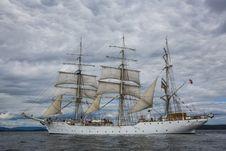 Free Floating Sailboat Royalty Free Stock Image - 84935916