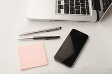 Free Office Tools On Table Royalty Free Stock Photography - 84936137