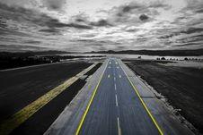 Free Runway Near Coast Stock Photos - 84936143