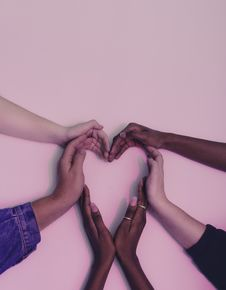 Free Hands Making Shape Of Heart Stock Photo - 84936150