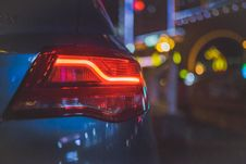 Free Car Stop Light Royalty Free Stock Image - 84936506