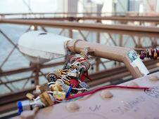 Free Assorted Locks In Brown Steel Bridge Royalty Free Stock Photo - 84937495