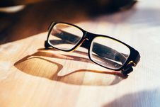 Free Glasses On Table Stock Photos - 84939333