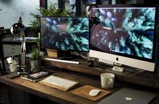 Free Workstation Stock Images - 84940174