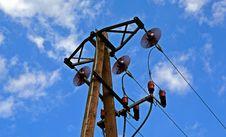 Free Power Line Stock Photos - 84940403