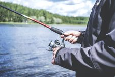 Free Reel Fishing Stock Images - 84940734