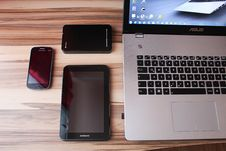 Free Electronic Devices Stock Image - 84940801