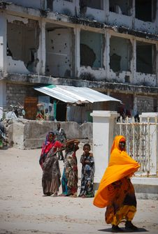 Free On Foot Patrol In Mogadishu With An AMISOM Formed Police Unit 11 Royalty Free Stock Images - 84943519