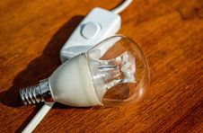 Free Light Bulb And Switch Royalty Free Stock Photo - 84943585