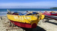 Free Currimao Fishing Boats.FZ200. Royalty Free Stock Photo - 84946185