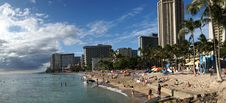 Free Waikiki Beach Honolulu. Stock Photo - 84948270