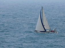 Free Sailboat On Seas Royalty Free Stock Photo - 84948295