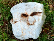 Free A Face Of Stone Stock Photo - 84948470