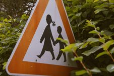 Free Children Road Sign Royalty Free Stock Image - 84949246