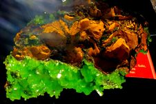 Free Green And Orange Minerals Stock Photo - 84950100