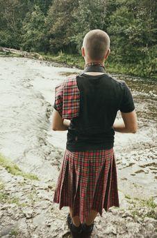 Free Guy In Kilt Royalty Free Stock Photography - 84950577