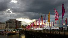 Free Approaching Storm. Darling Harbour Sydney. Stock Photography - 84950982