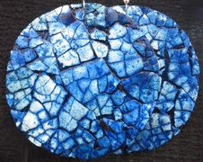 Free Blue Cracked-eggshell Texture Stock Photography - 84951402