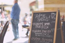 Free Handwritten-italian-marketing-menu Stock Photography - 84952922