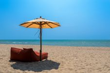 Free Cha Am Beach, Thailand Royalty Free Stock Image - 84953616