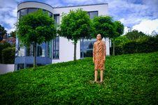 Free Sculpture Bea Van Dorpe Stock Image - 84953761