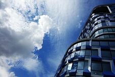 Free PUBLIC DOMAIN DEDICATION Digionbew 10. June July 29-06-16 High Rise And Clouds LOW RES DSC03732 Royalty Free Stock Image - 84954256