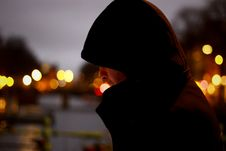 Free Close Up Photo Of Person Wearing Hoodie Stock Image - 84954881