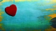 Free Heart And Green Backdrop Stock Photo - 84955440