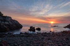 Free Downeast Sunrise Royalty Free Stock Images - 84955569