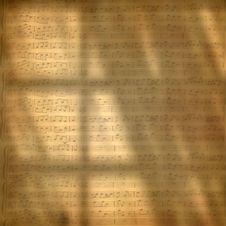 Free Music-Sheet-Wallpaper Royalty Free Stock Photo - 84955865