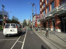 Free 07April2015 Bicycling To Work Stock Photo - 84955950