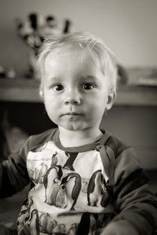 Free Serious Boy Stock Image - 84957211