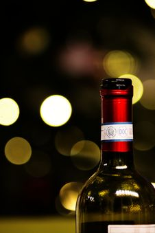 Free Bottle Of Wine Royalty Free Stock Photos - 84960028