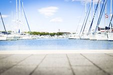 Free Yachts At Dock Royalty Free Stock Image - 84960206